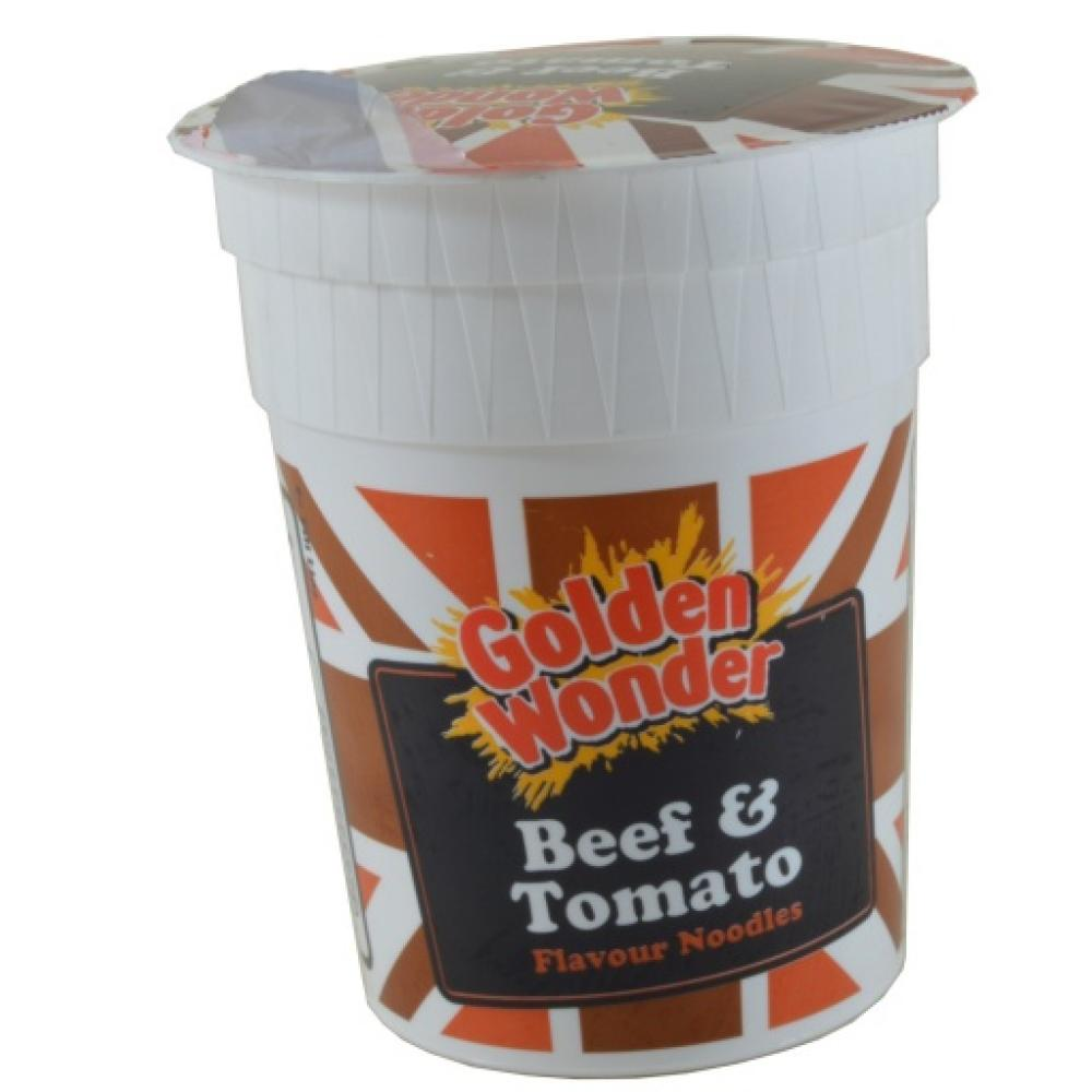 Golden Wonder Beef And Tomato Flavour Noodles 90g