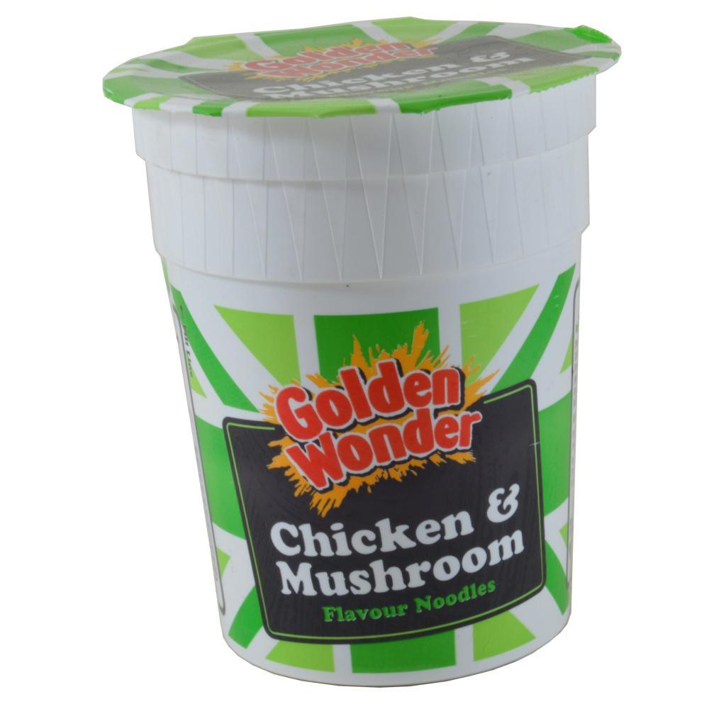 Golden Wonder Chicken And Mushroom Flavour Noodles 90g
