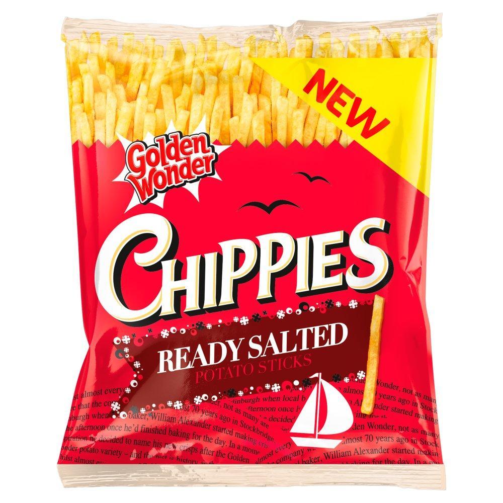 Golden Wonder Chippies Ready Salted 45g
