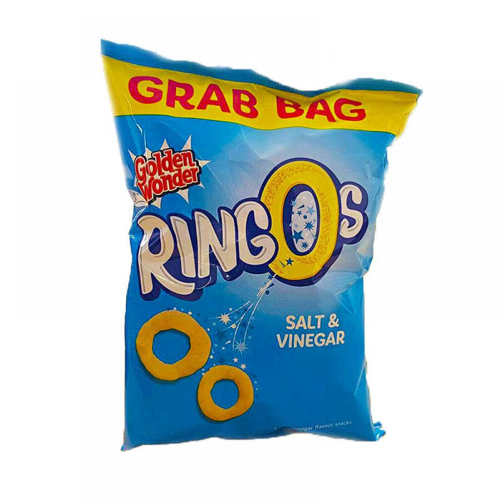 Golden Wonder Ringos Grab Bag Salt and Vinegar 36g