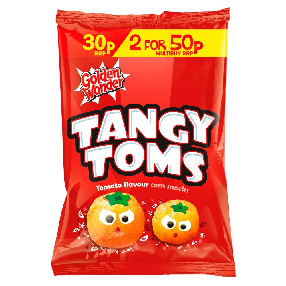 Golden Wonder Tangy Toms 25g