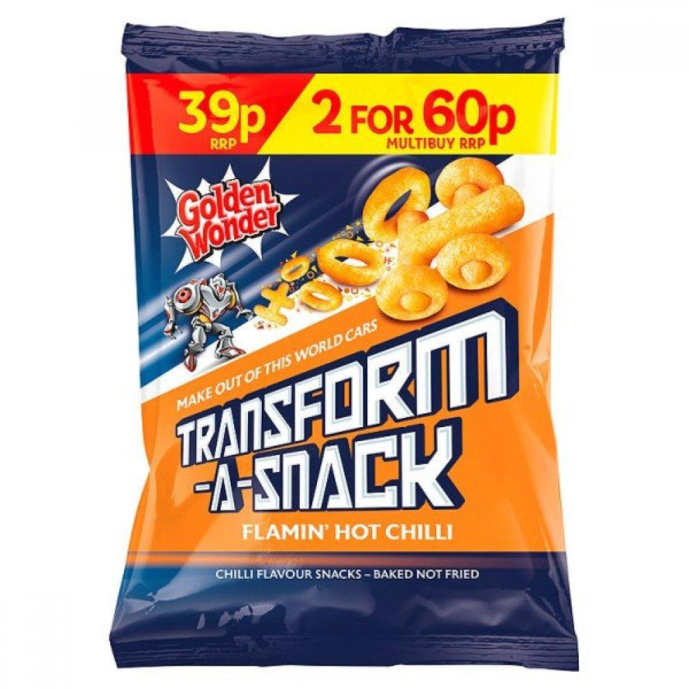 Golden Wonder Transform a Snack Hot Chilli 30g