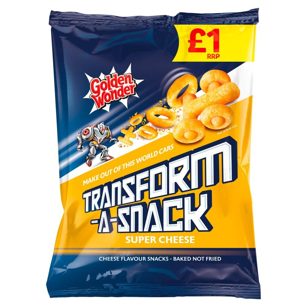 Golden Wonder Transform A Snack Super Cheese 90g