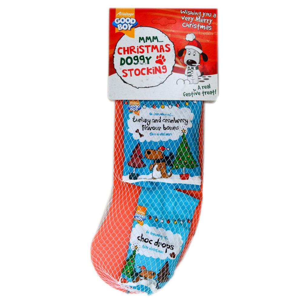 Good Boy Christmas Doggy Stocking