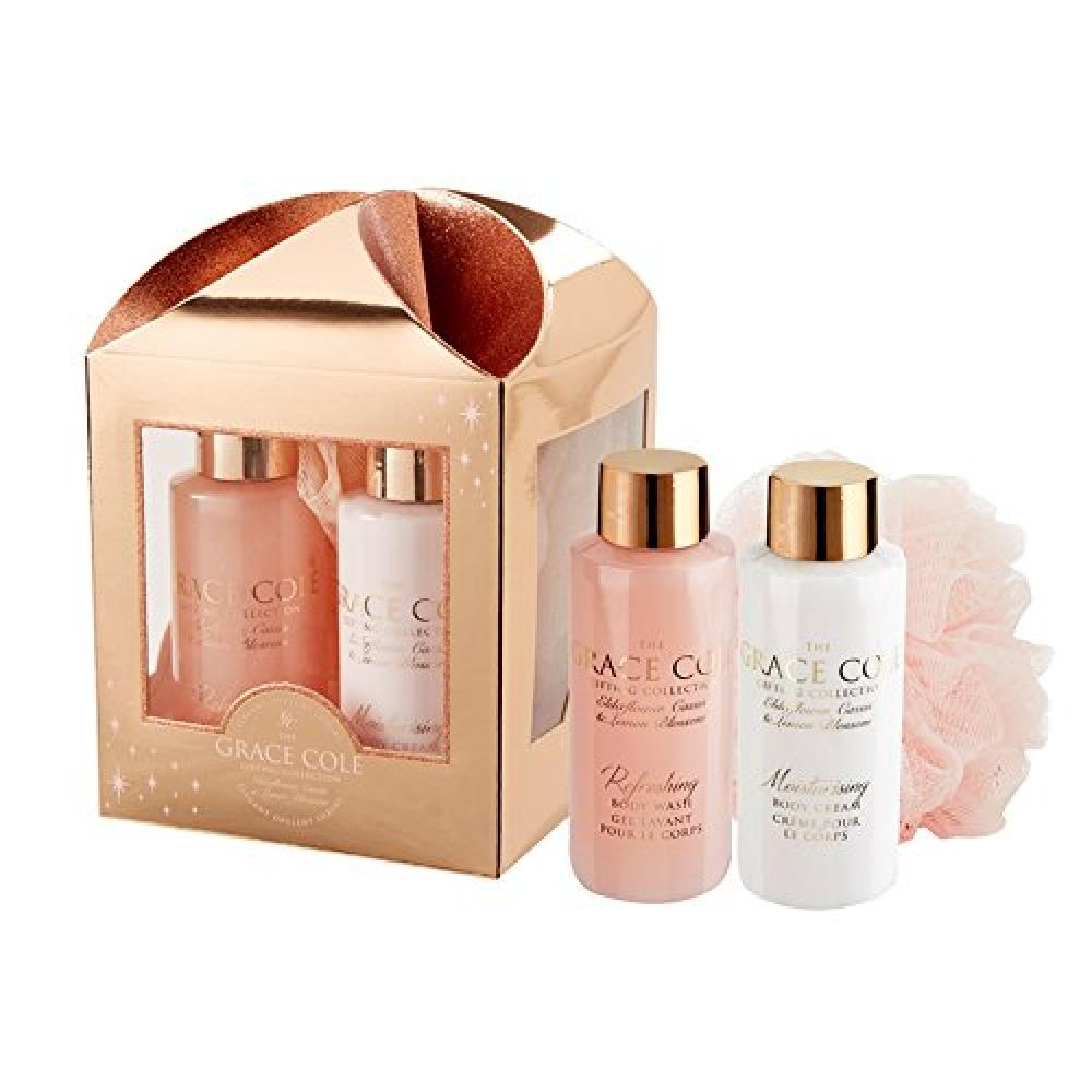 Grace Cole Indulge Signature ElderflowerCassis and Lemon Blossom Gift Set