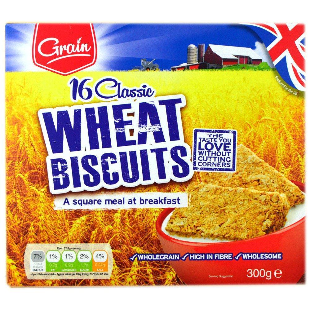 Grain Grain Wheat Biscuits 300g 300g