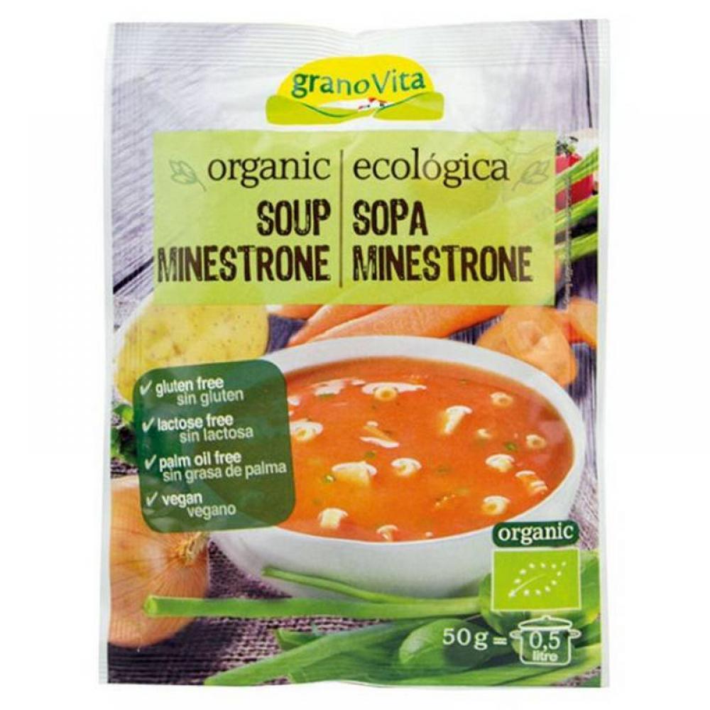 Granovita Organic Soup Minestrone 50g