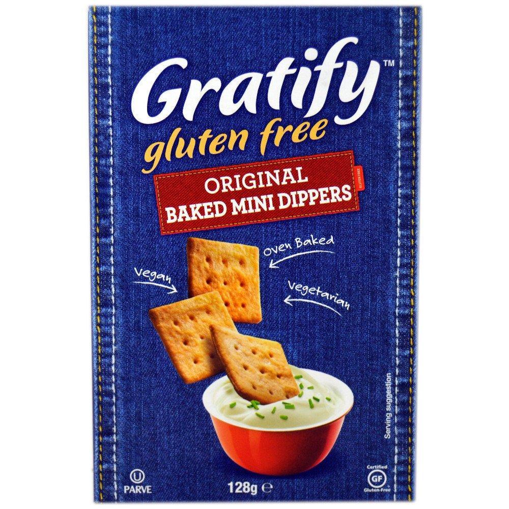Gratify Original Baked Mini Dippers 128g