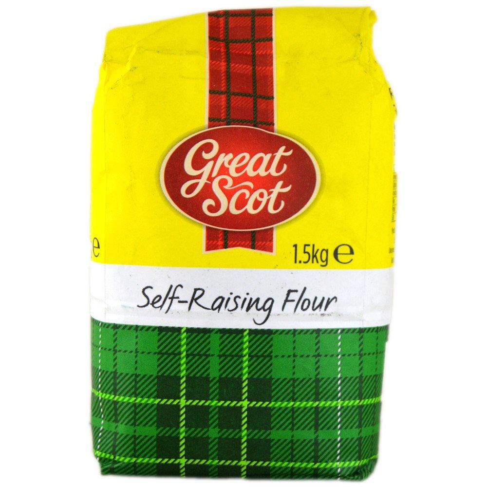 Great Scot Self Raising Flour 1.5kg