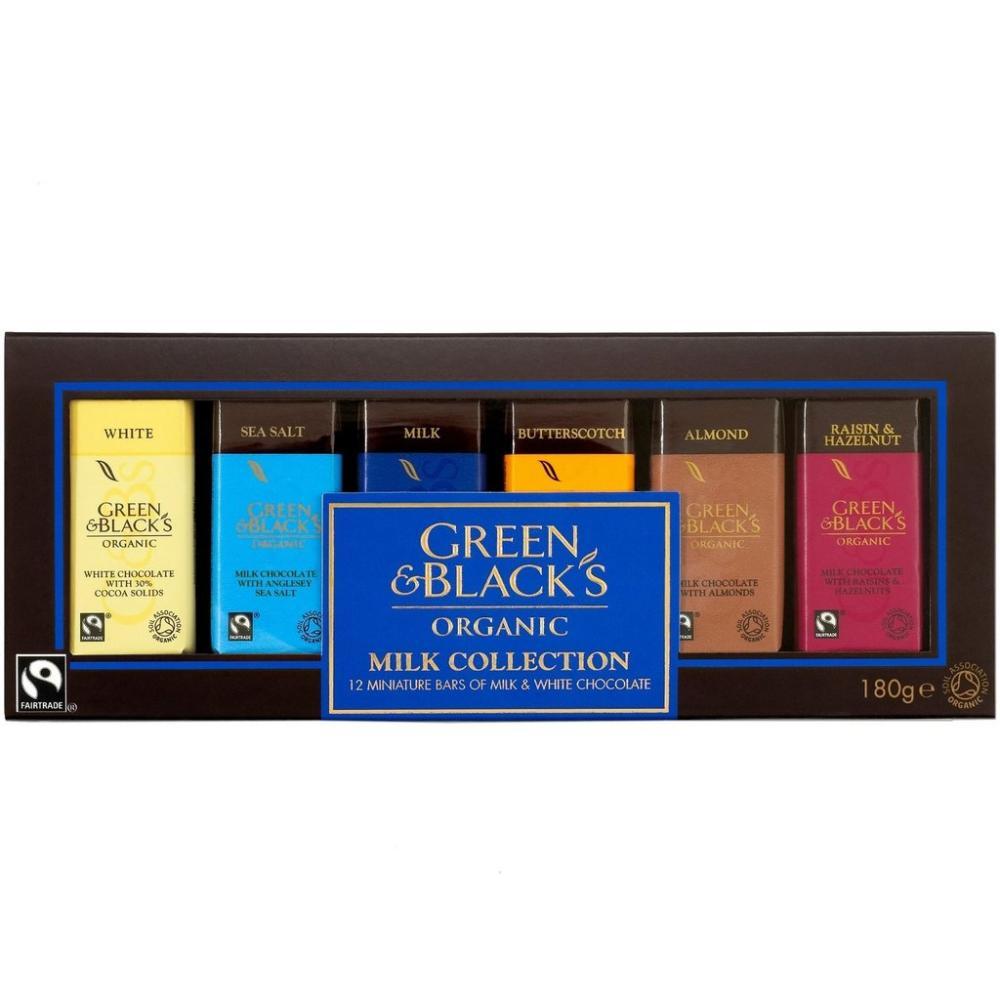 Green and Blacks Organic Milk Collection 180g