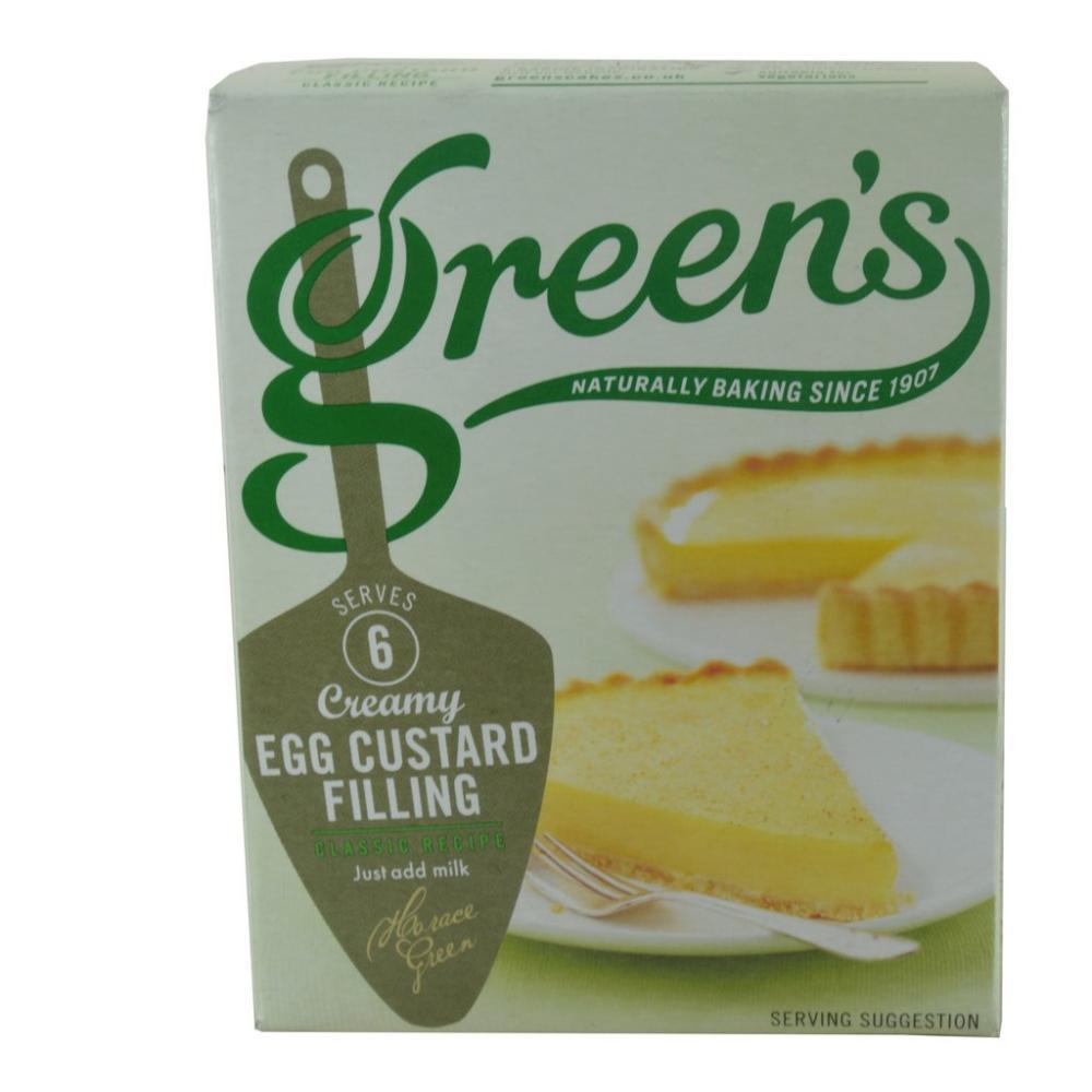 Greens Creamy Egg Custard Filling 54g