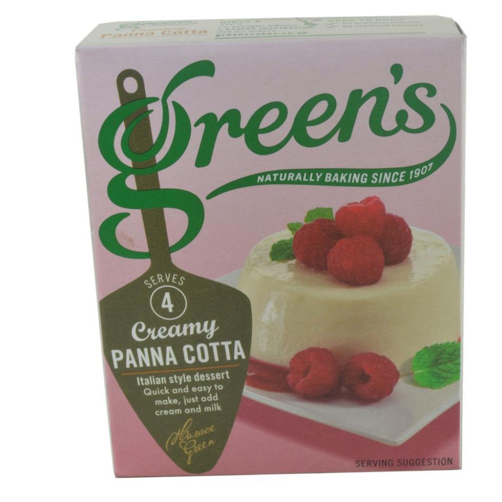 Greens Creamy Panna Cotta 65g