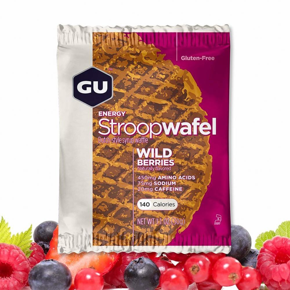 GU Energy Wild Berries Stroopwafel 30g