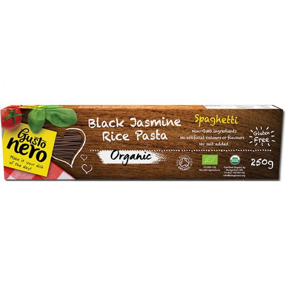 Gusto Nero Black Jasmine Rice Pasta Spaghetti 250g 250g