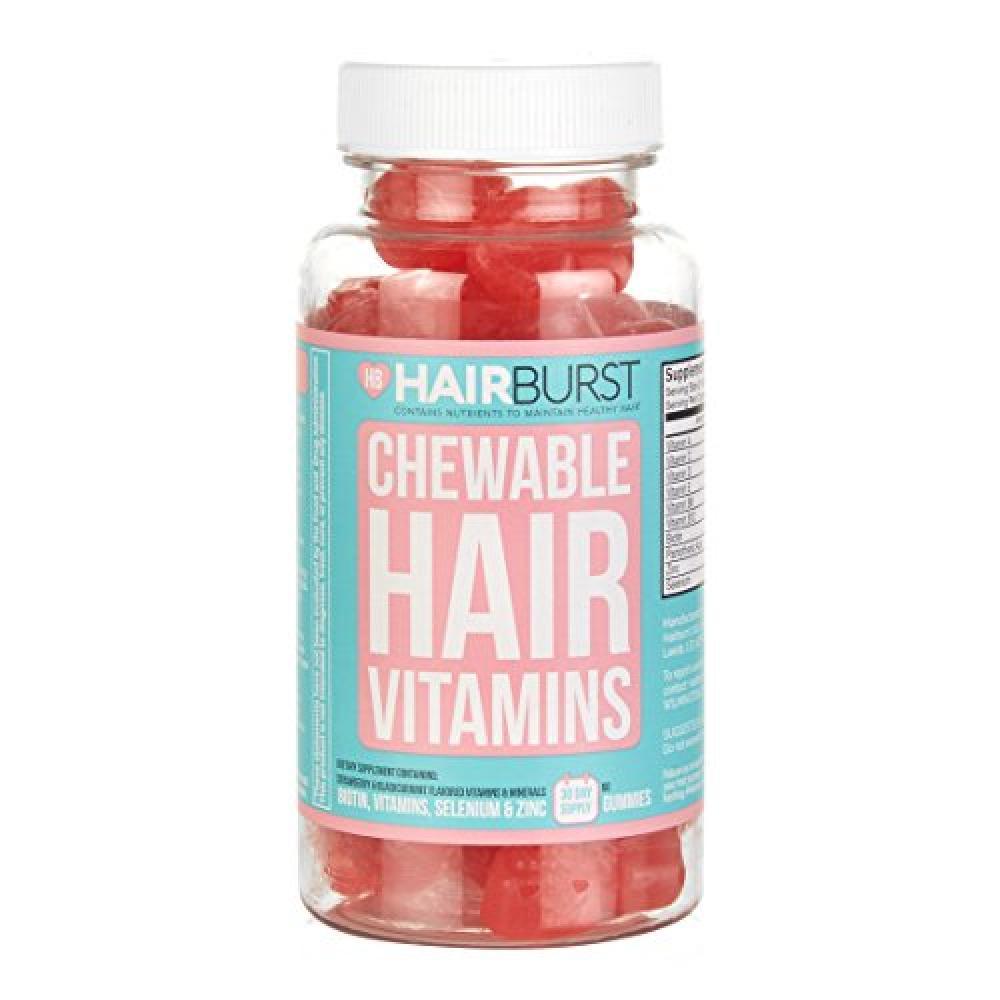 Hairburst Chewable Vitamins Hair Vitamin Capsules 60 Pastilles