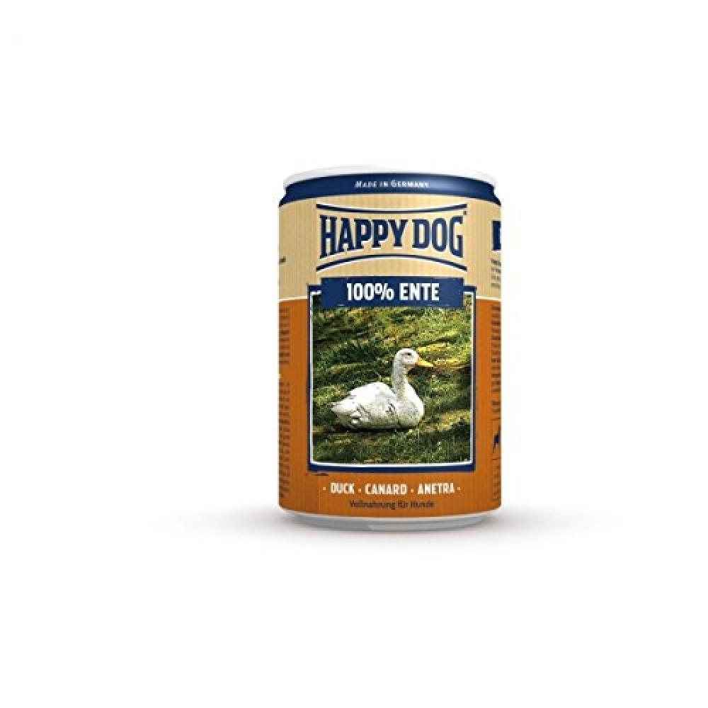 Happy Dog Wet Dog Food Pure Tinned Duck, 400 g