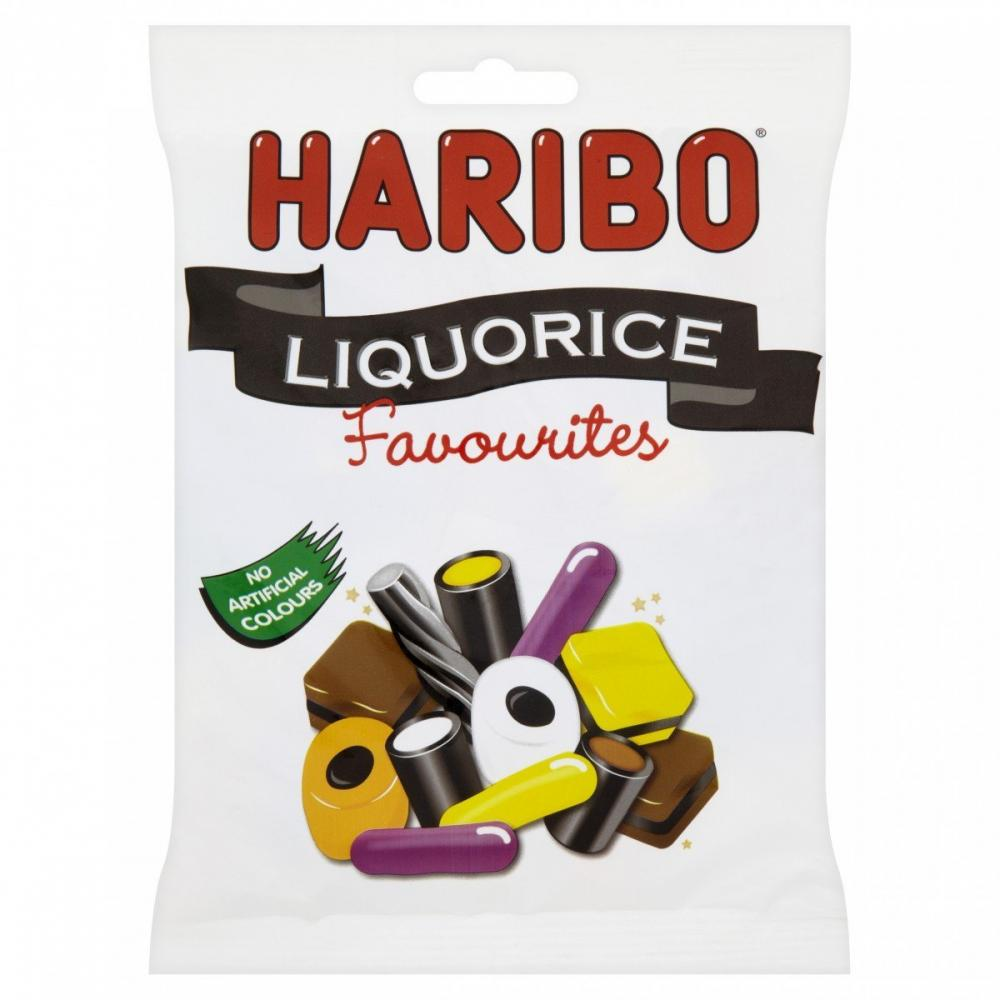 Haribo Liquorice Favourites 265g