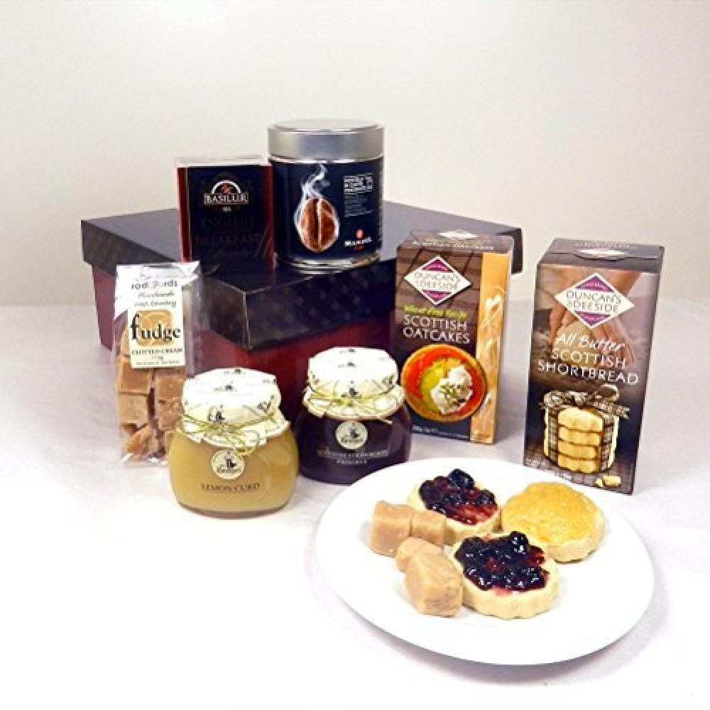 Hay Hampers Traditional Tea Time Treats Hamper Gift Box