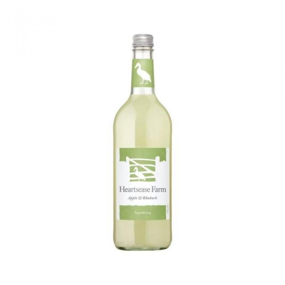 Heartsease Farm Sparkling Apple and Rhubarb 330ml