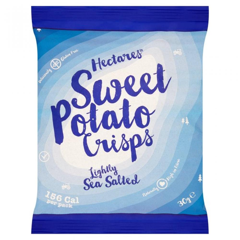 Hectares Lightly Sea Salted Sweet Potato Crisps 30g