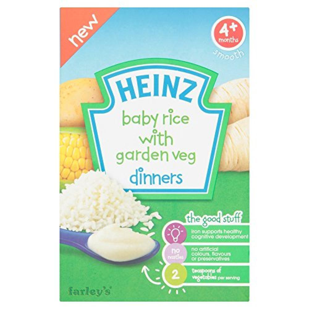 Heinz Baby Rice with Garden Veg Dinners 125g 125g