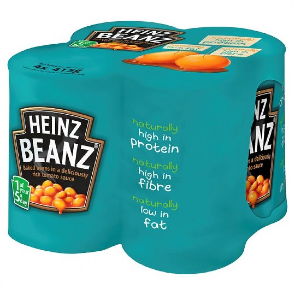 Heinz Beanz 415g x 4