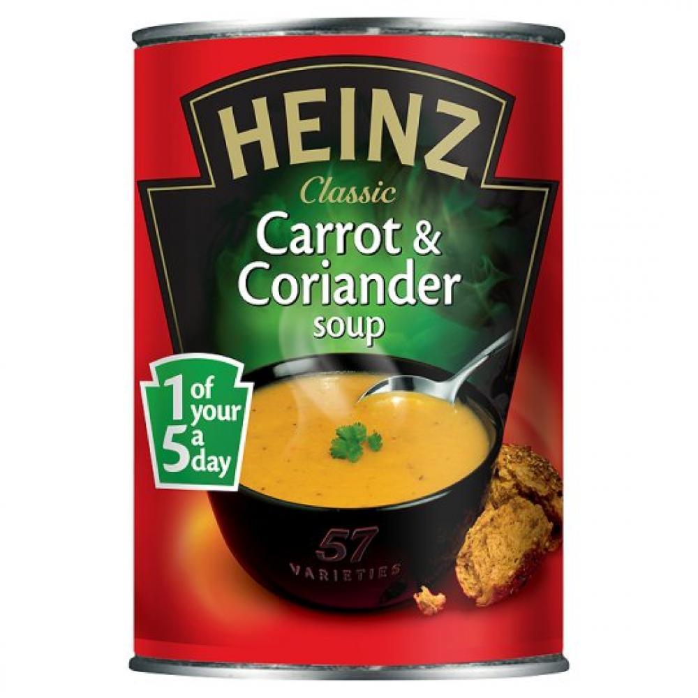 Heinz Carrot and Coriander Soup 400g 400g