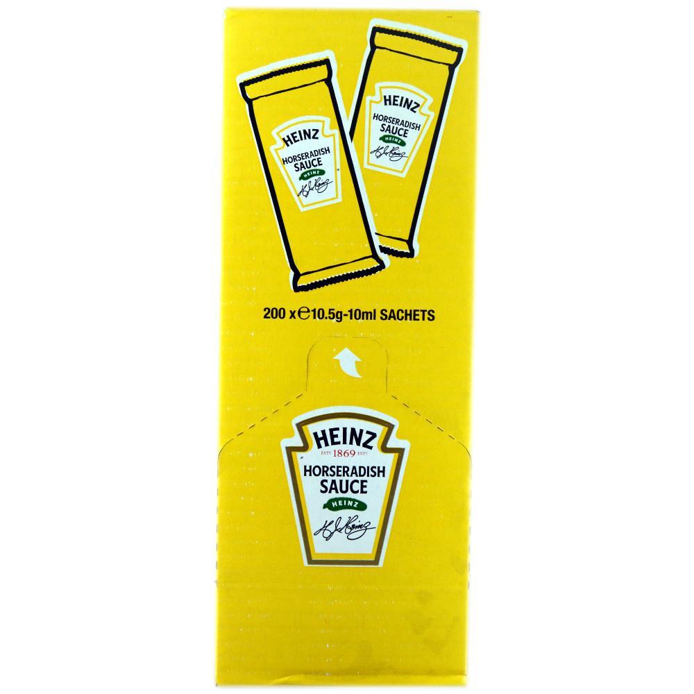 Heinz Horseradish Sauce 10ml x 200