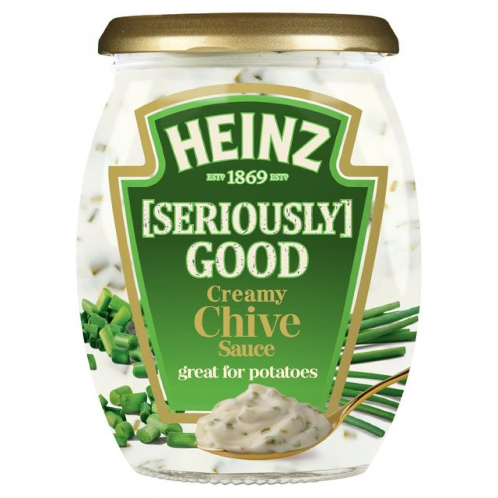 Heinz Seriously Good Condiments Creamy Chive 260g