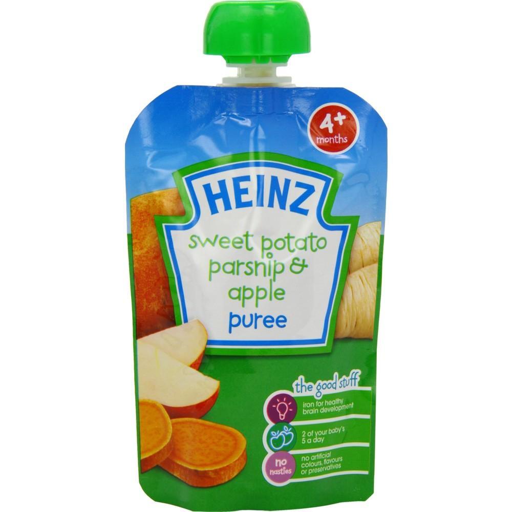Heinz Sweet Potato Parsnip and Apple 100g 100g