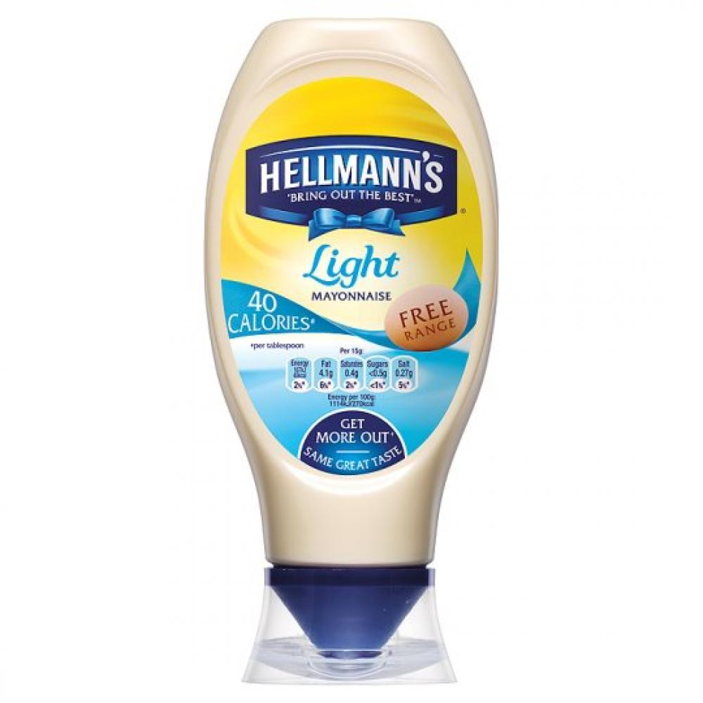 Hellmanns Light Mayonnaise 750ml