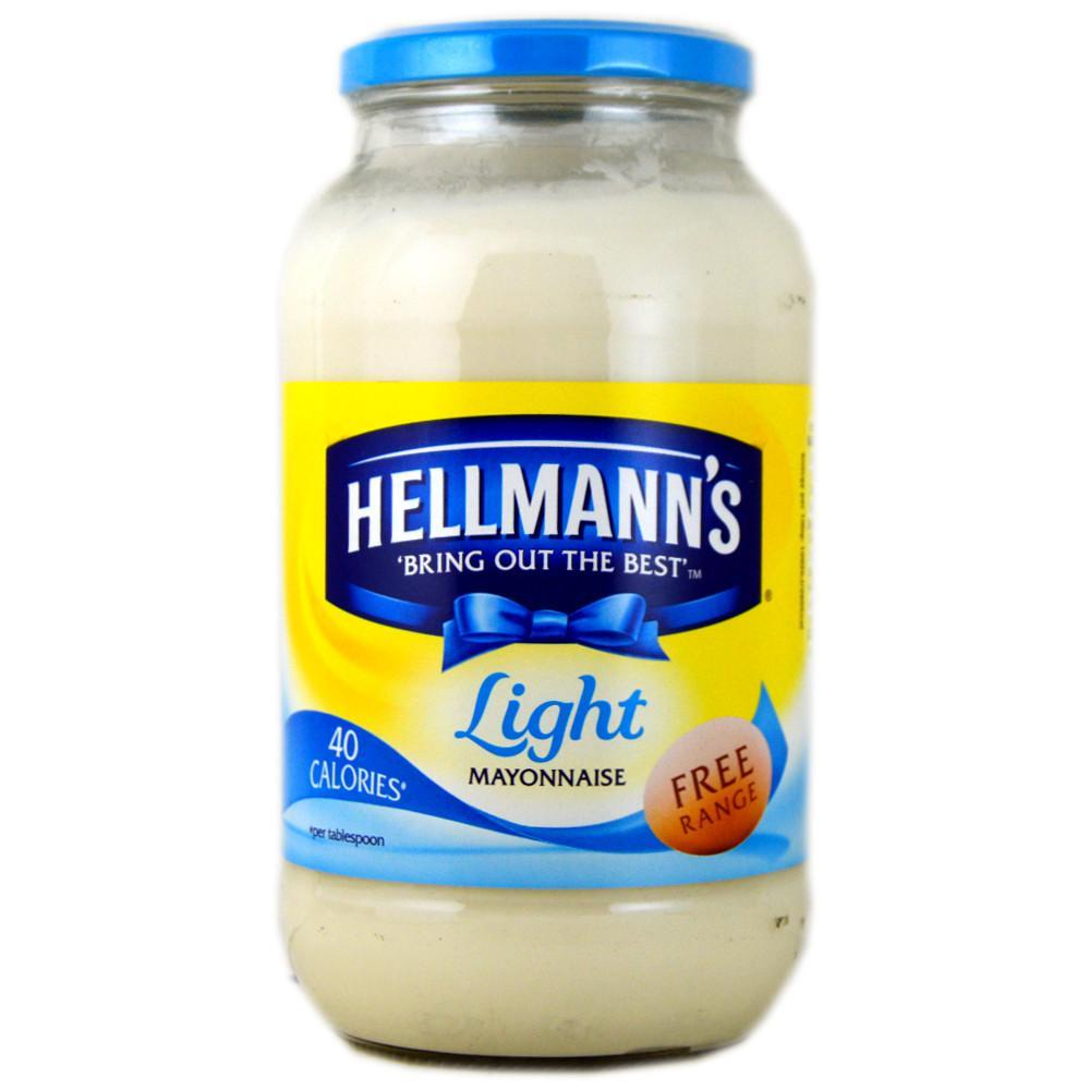 Hellmanns Light Mayonnaise 800g