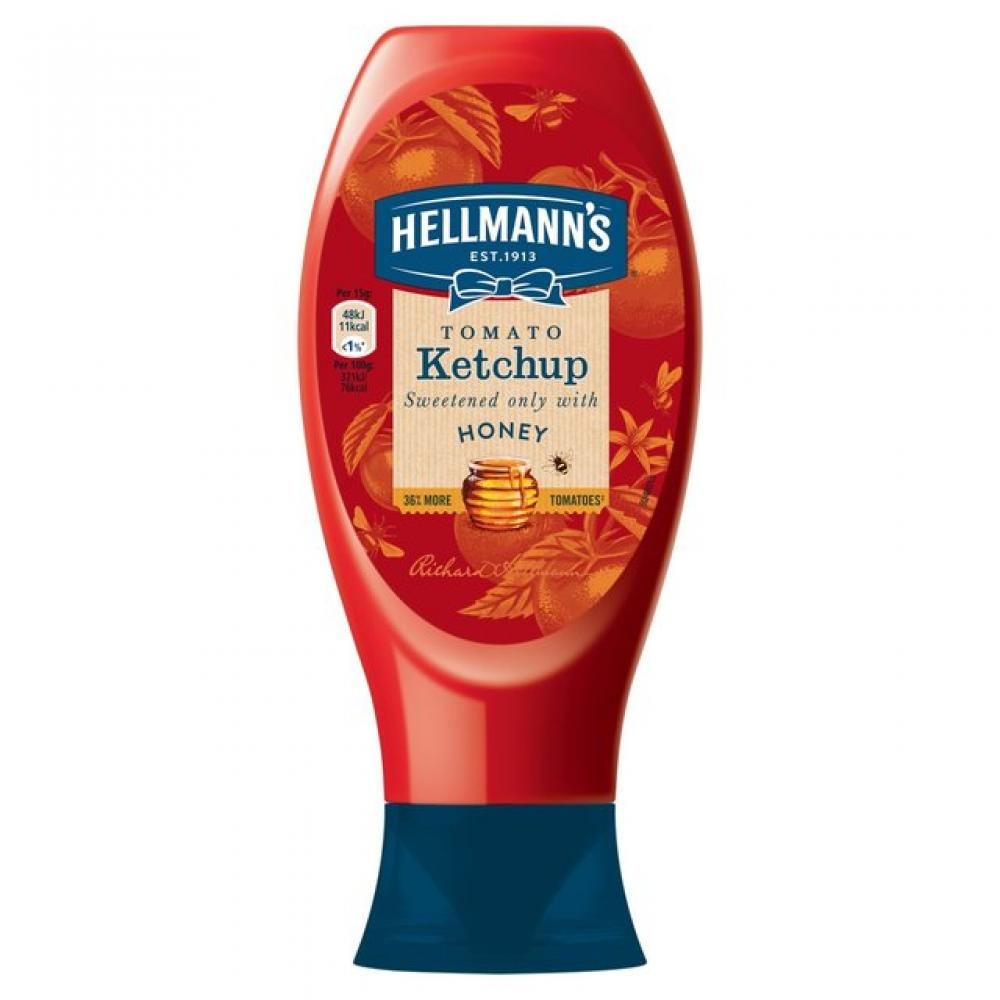 Hellmanns Tomato Ketchup with Honey 750ml