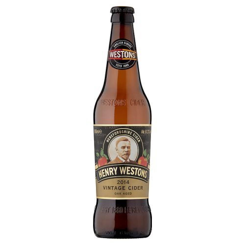 Henry Westons Special Vintage Cider Bottle 500ml