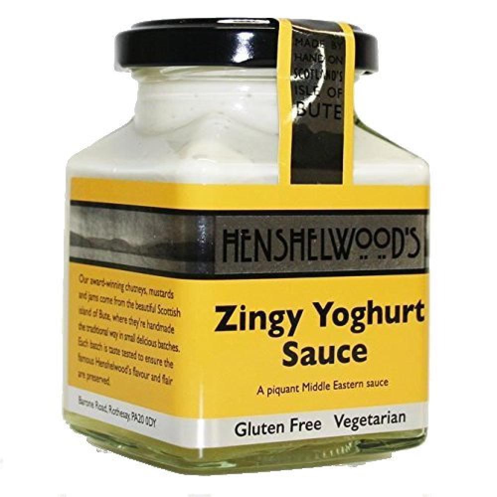 Henshelwoods Zingy Yoghurt Sauce 195g 195g