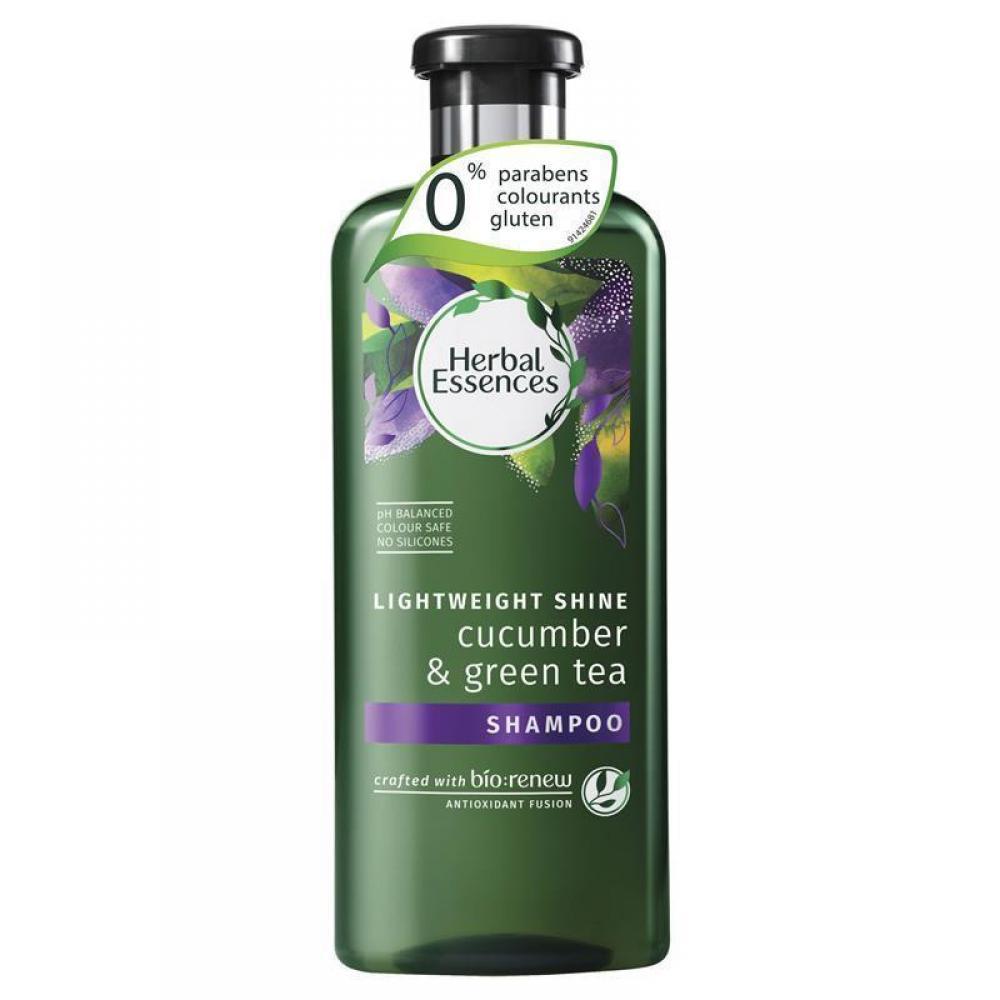 Herbal Essences Bio Renew Cucumber and Green Tea Shine Shampoo 400ml