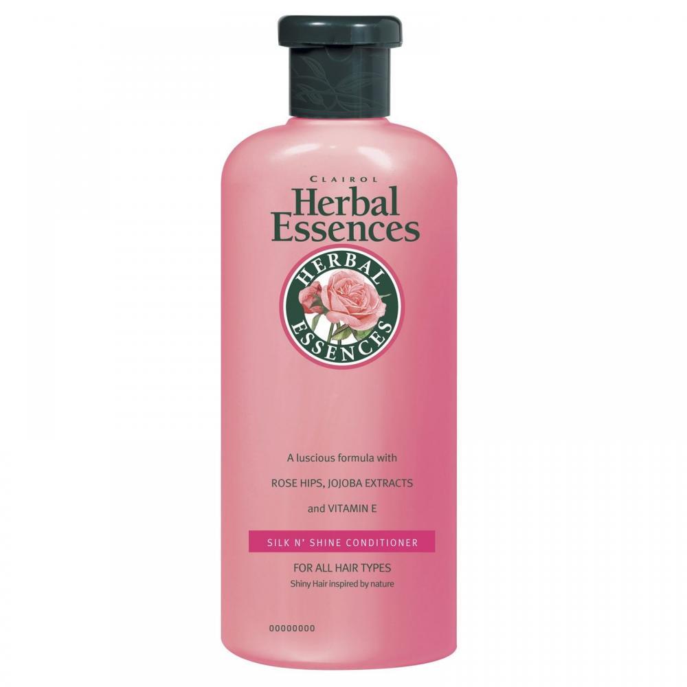 Herbal Essences Silk N Shine Conditioner 400ml