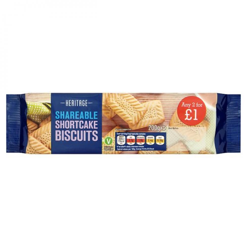 Heritage Shortcake Biscuits 200g