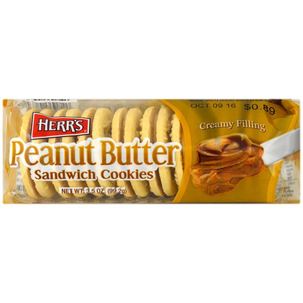 Herrs Peanut Butter Sandwich Cookies 99.2g