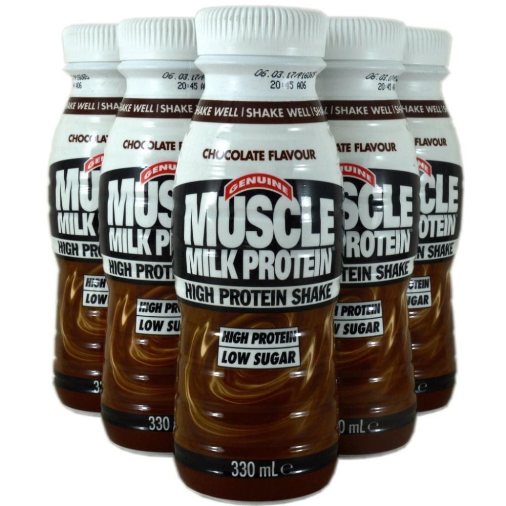 Genuine Muscle Milk Protein High Protein Shake Chocolate Flavour 330ml