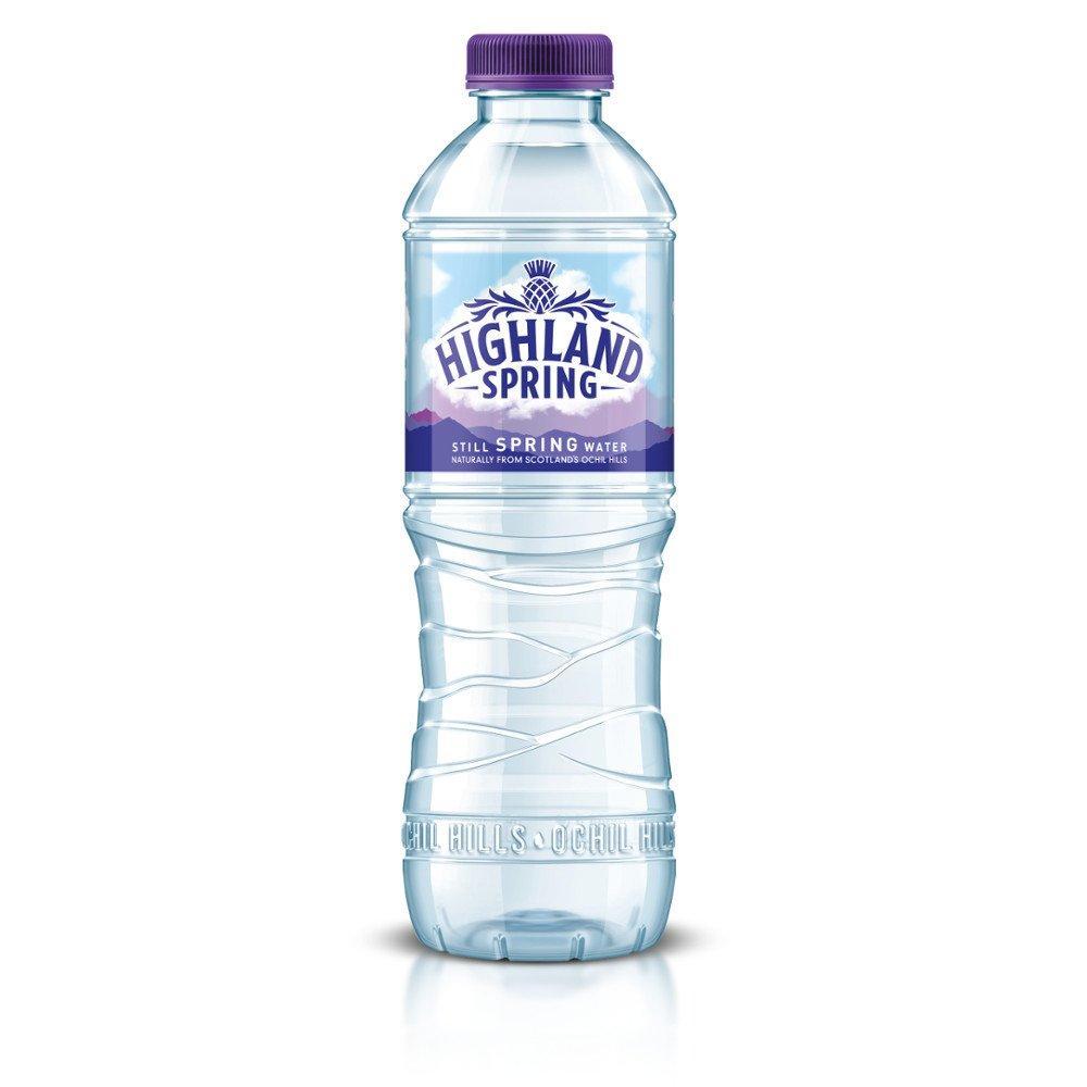 Highland Spring Still Spring Water 500ml