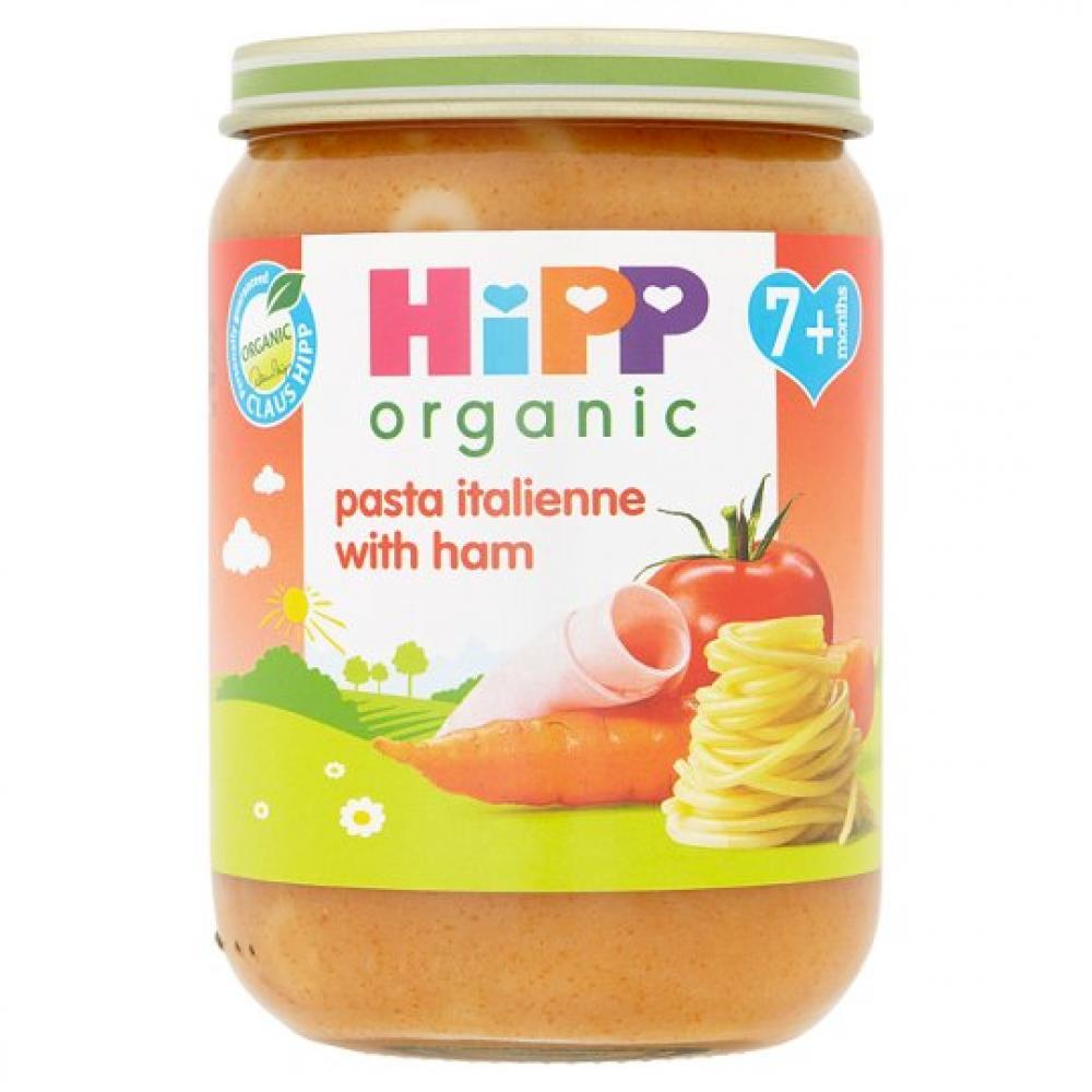 Hipp Organic Pasta Italienne With Ham 190g