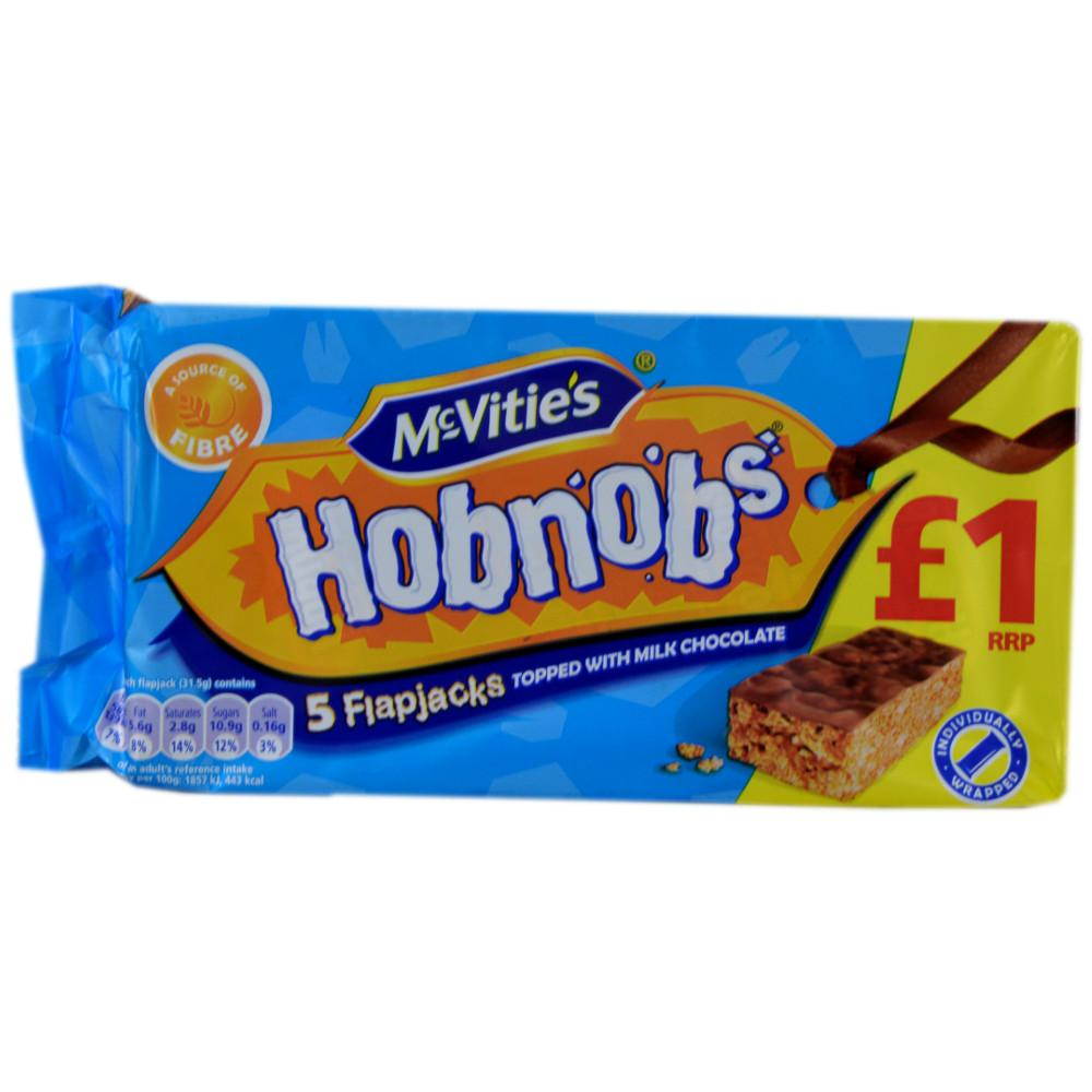 McVities Hobnobs 5 Flapjacks