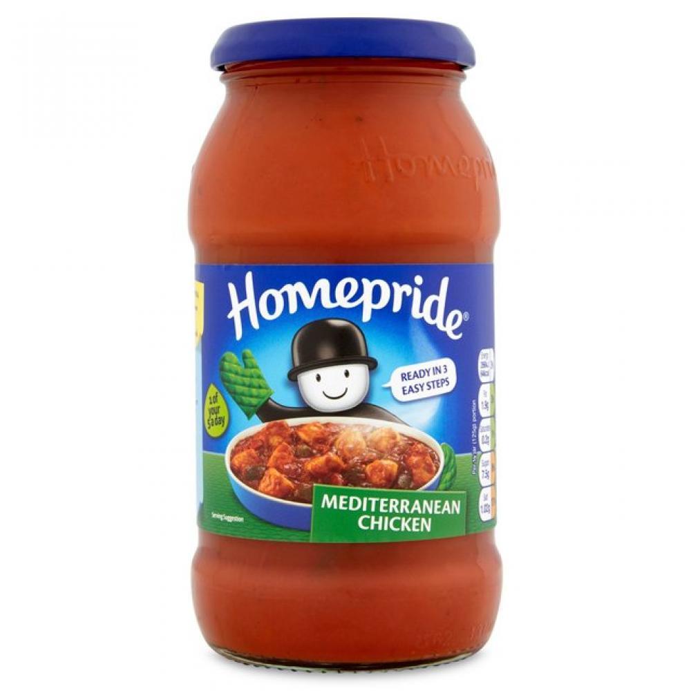 Homepride Mediterranean Chicken Cooking Sauce 500g