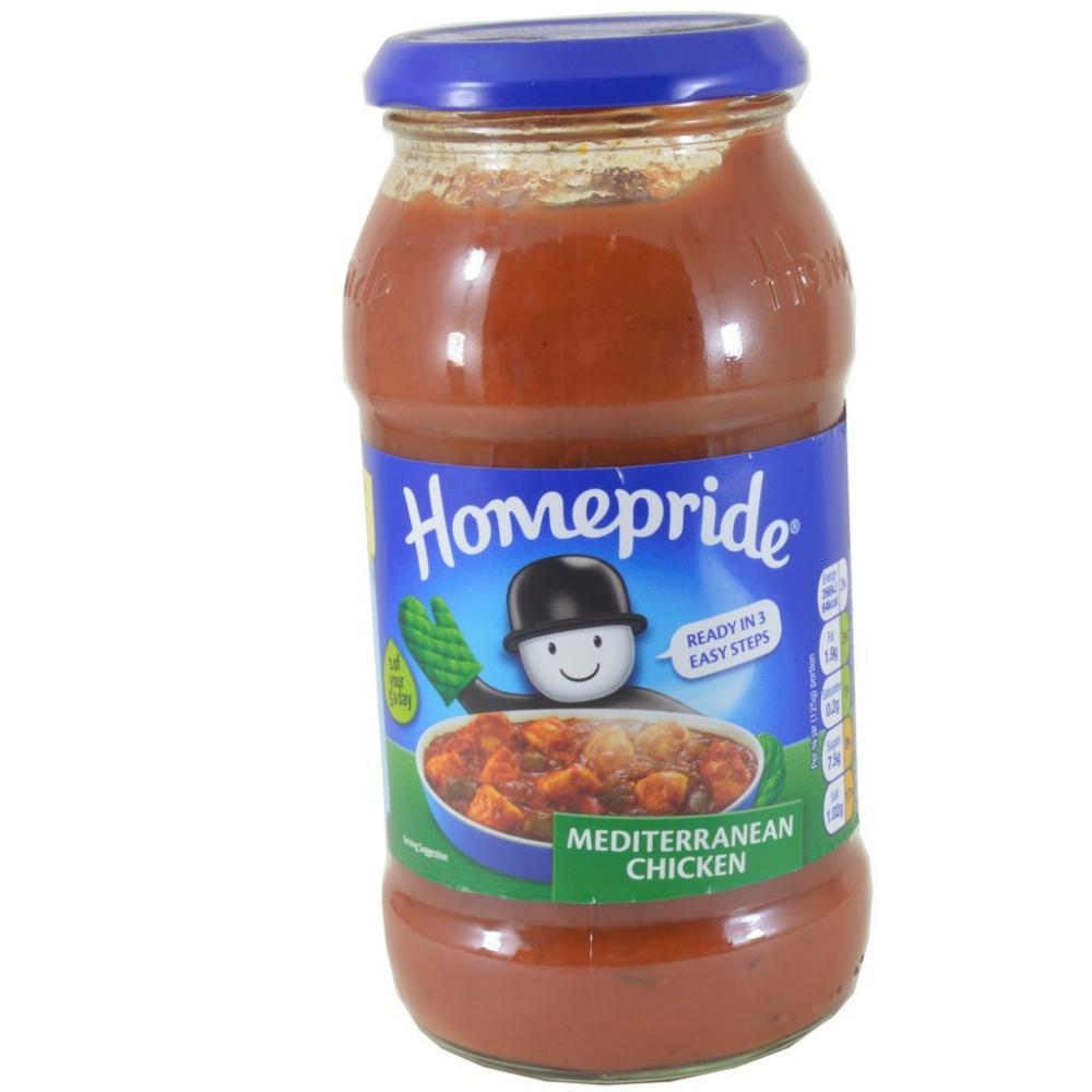 Homepride Mediterranean Chicken Cooking Sauce 500g