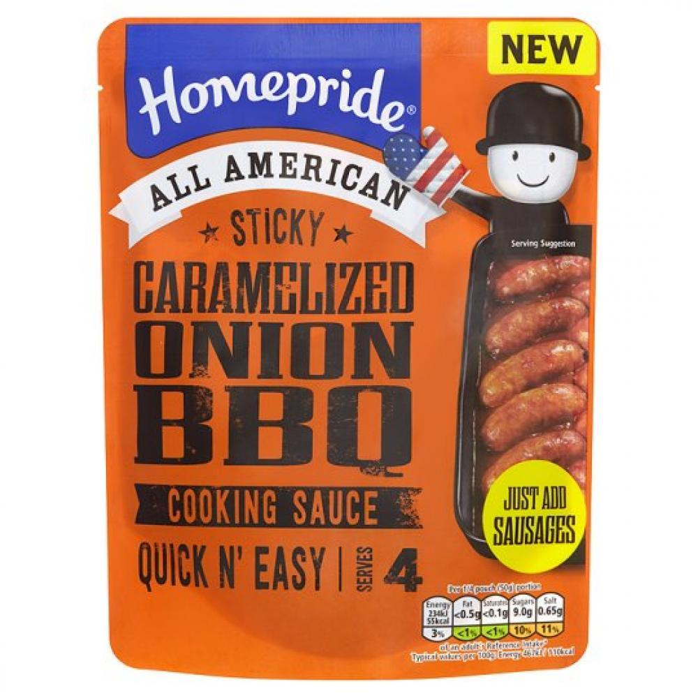 Homepride Sticky Caramelised Onion BBQ Sauce 200g