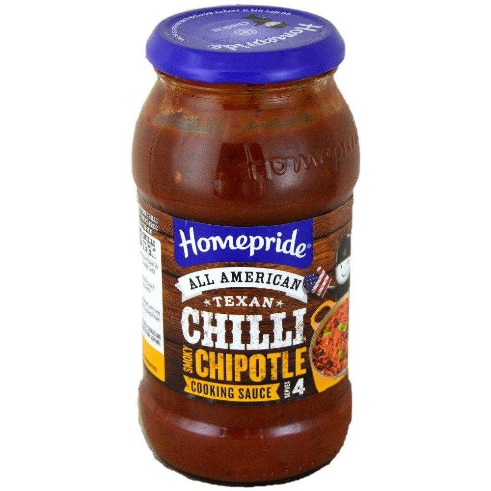 Homepride Texan Chilli Chipotle Cooking Sauce 485g