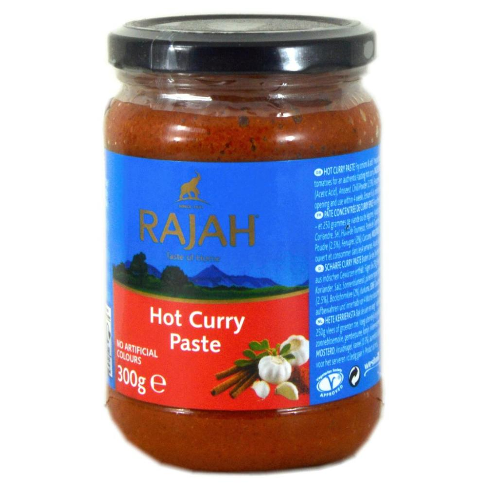 FURTHER REDUCTION  Rajah Hot Curry Paste 300g