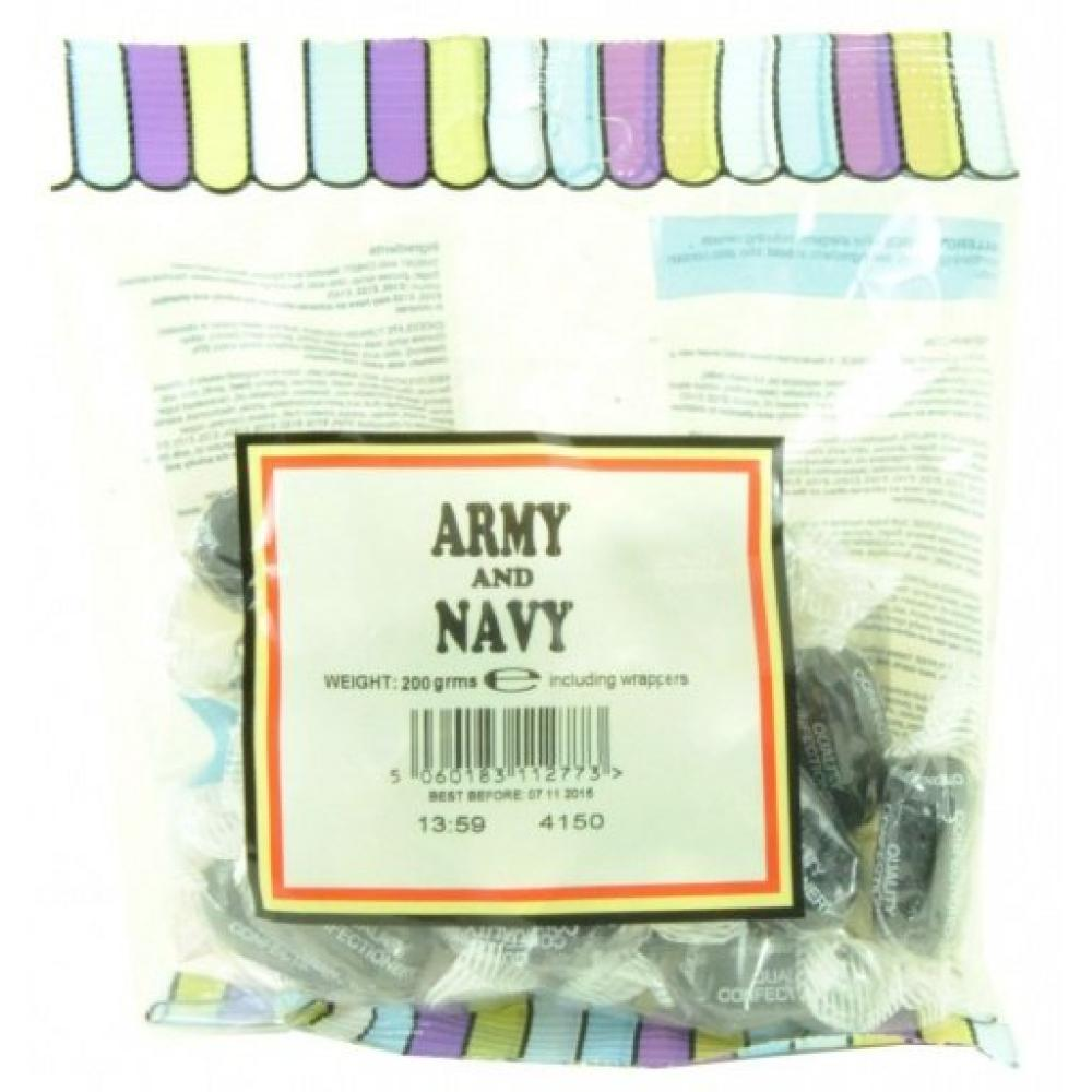 House Of Candy Army and Navy Sweets 200g