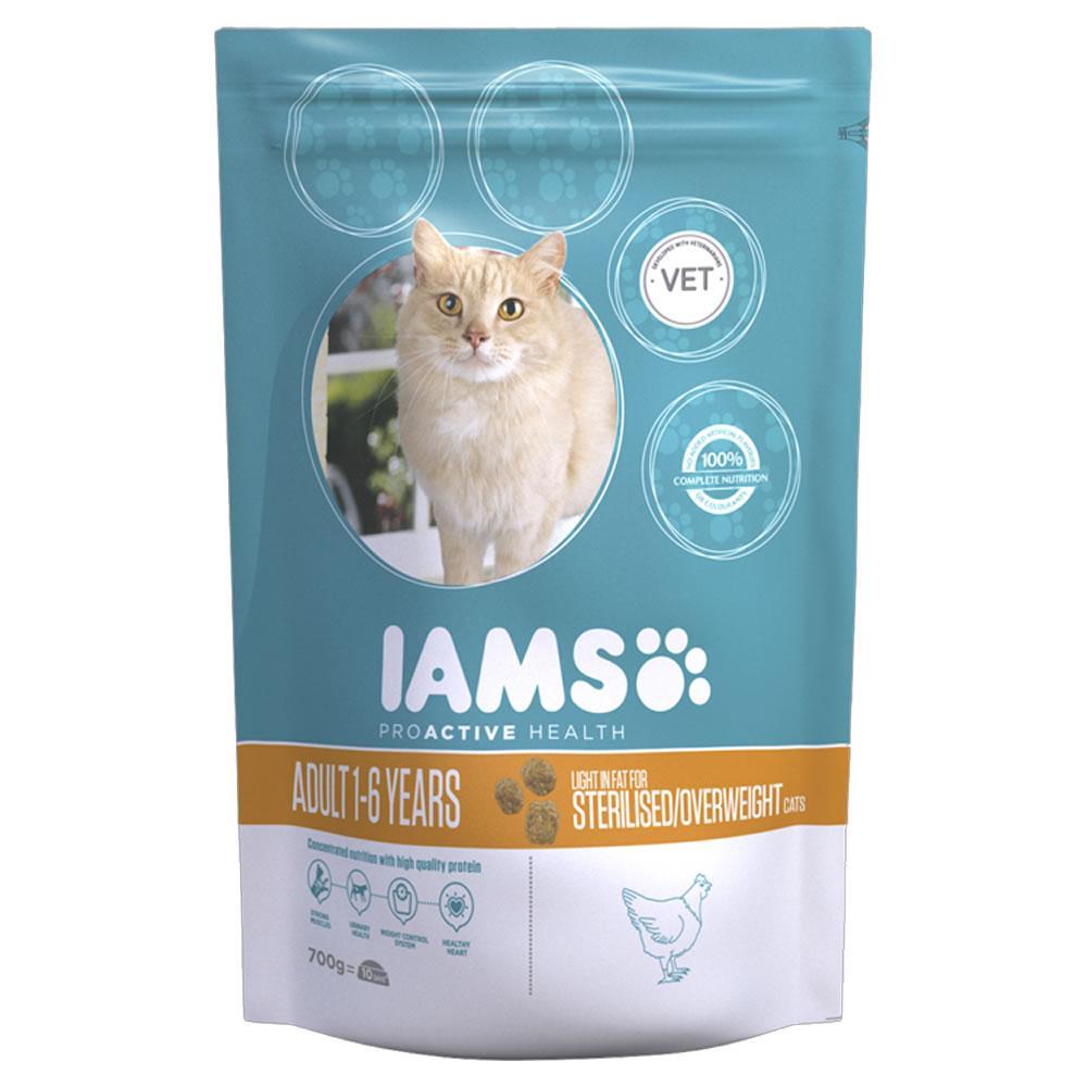 Iams Dry Cat Food Adult Chicken 700g 700g